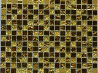 Мозаика-30х30-Mirror-Gold-8×15х15
