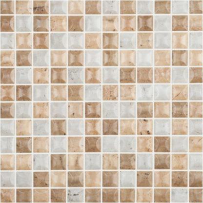 Мозаика-31.7х31.7-Stones-Mix-Travertino-B-сетка