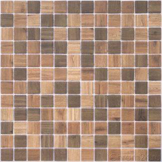 Мозаика-317×317-Wood-Dark-Blend-сетка