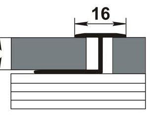 Профиль-окантовачный-ЛК-15.2700105-Т-обр.-105-Дубарктик-16мм-на-27м