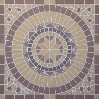 Мозаичное панно Round  100х100