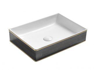 Раковина-Esero-170-GL009-керамическая-встраиваемая