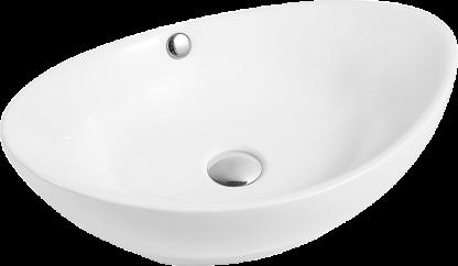 Раковина-Esero-206-керамическая-встраиваемая