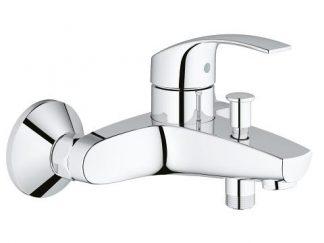 Смеситель для ванны Eurosmart 2015 настенный мотаж