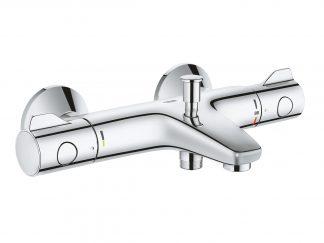 Смеситель термостат для ванны Grohtherm 800 1^2 настенный монтаж 34567000