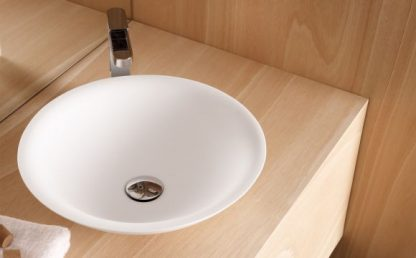 Умывальник-42х12-Lavabo-Red.Solid-Surface-PIAMONTE