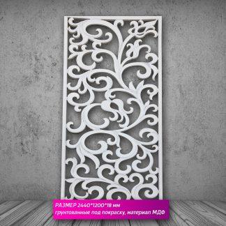 Настенная декоративная панель 3D (МДФ) 244х122х18мм GP-083
