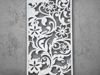Настенная декоративная панель 3D (МДФ) 244х122х18мм GP-084