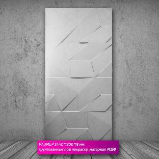 Настенная декоративная панель 3D (МДФ) 244х122х18мм SA-132