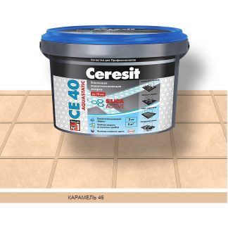 Затирка для швов СЕ40 Ceresit карамель 2кг