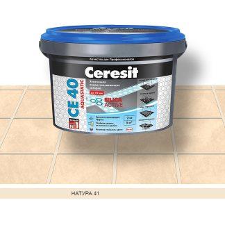 Затирка для швов СЕ40 Ceresit натура  2кг