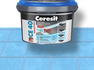 Затирка для швов CE40 Ceresit голубая 2кг