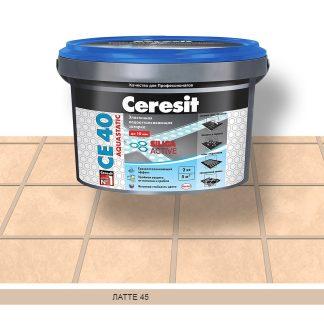Затирка для швов CE40 Ceresit латте 2кг