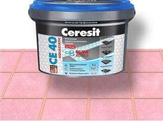 Затирка для швов CE40 Ceresit розовый 2кг