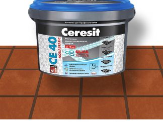 Затирка для швов CE40 Ceresit темный шоколад 2кг