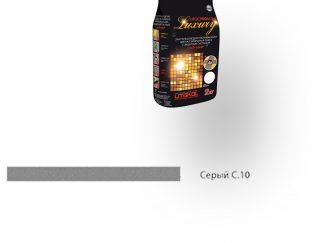 Затирка для швов Litochrom Luxury 1-6 С.10 серый 2кг