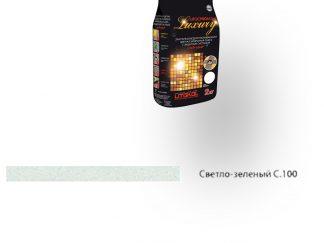 Затирка для швов Litochrom Luxury 1-6 С.100 светло-зеленый 2кг