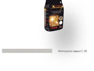 Затирка для швов Litochrom Luxury 1-6 С.30 жемчужно-серый 2кг