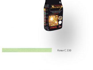 Затирка для швов Litochrom Luxury 1-6 С.330 киви 2кг