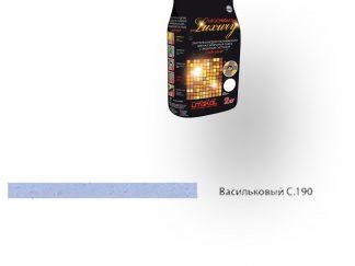 Затирка для швов Litochrom Luxury 1-6 C.190 васильковый 2кг