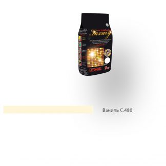 Затирка для швов Litochrom Luxury 1-6 C.480 ваниль 2кг