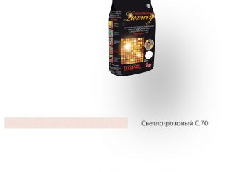Затирка для швов Litochrom Luxury 1-6 C.70 светло-розовый 2кг