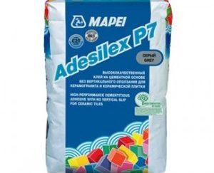 Клей ADESILEX P7 25кг. серый. Для керамической плитки,мозаики и  керамогранита.