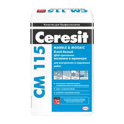 Клей для плитки Ceresit CM 115 25кг