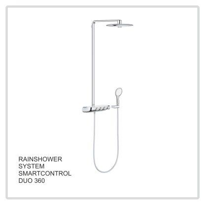 Rainshower System  Smartcontrol Duo 360