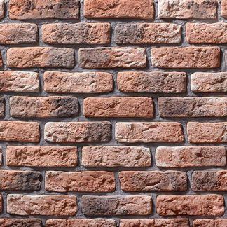 Облицовочный камень Старый кирпич 09-01