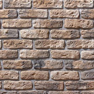 Облицовочный камень Старый кирпич 09-02