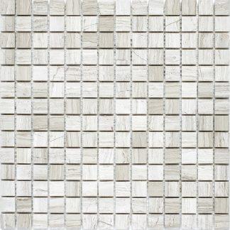 Мозаика 30.5×30.5 Grey Polish 20х20