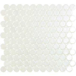 Мозаика 30.6х31.4 Circle 6000 белая _сетка