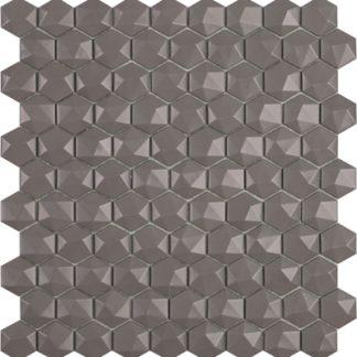 Мозаика 30,7×31,7 Nordic Hex № 926 D беж. сетка